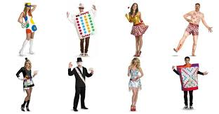 Scrabble Halloween Costume Game Board Costumes Couples Halloween Partyideapros