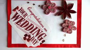 card for wedding congratulations diy wedding congratulations card