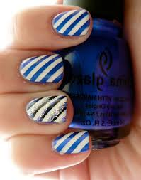 nail art stripes how you can do it at home pictures designs