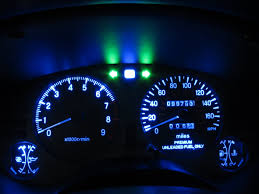 2g eclipse gsx interior instrument cluster lights led conversion