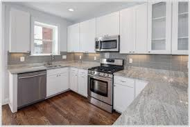 Black And Grey Glass Tile Backsplash Tiles  Home Decorating - Gray glass tile backsplash