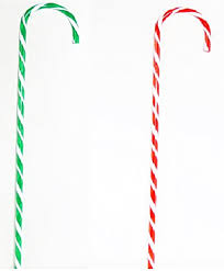 Plastic Candy Canes Wholesale Amazon Com Jumbo Candy Cane Decorations 32 Inches Tall