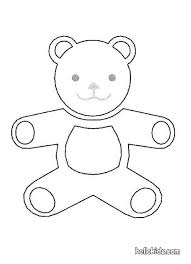 kids teddy bear and toys coloring pages hellokids com