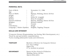 Reverse Chronological Resume Example by Simple Resume Sample 8 Basic Resume Template For Business