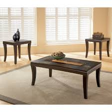 standard furniture laguna coffee table with 2 end tables walmart com