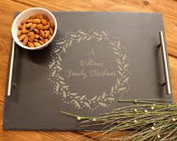 personalized serving platters personalized platter etsy