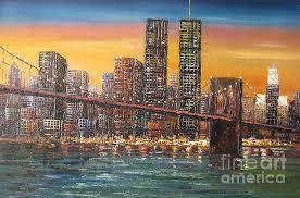 images fineartamerica com images um large new york sunset manhattan brooklyn bridge oil painting mr lin jpg skyline brooklyn