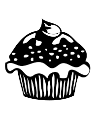 happy birthday cupcake coloring pages for kids niceimages org