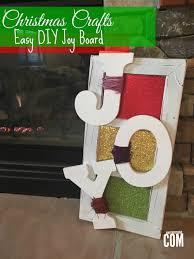 christmas craft easy diy joy board it u0027s a mother thing