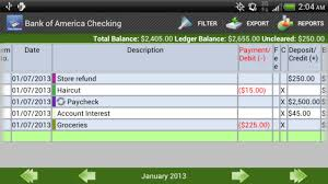 checkbook pro android apps on google play