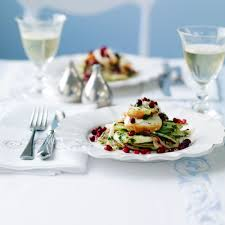 fennel and lobster salad with pomegranate woman and home