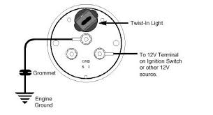 auto meter gauge tach wiring diagram wiring diagram and