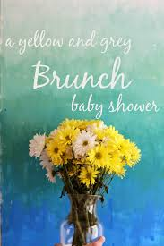 silver lining a brunch baby shower