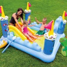 animal friends splash water slide backyard water slide kids water