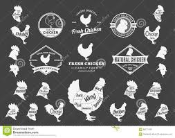 repeat halloween background vector chicken logo icons charts and design elements stock