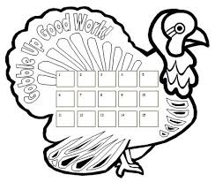 useful turkey drawing template best photos of thanksgiving 7569