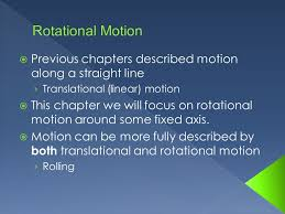 previous chapters described motion along a line
