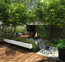 small contemporary garden wonderful use of space incorporating