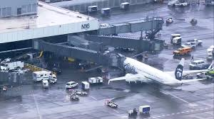 Seatac Terminal Map Sea Tac Airport Ramp Worker Escorted To Ambulance Nbc News