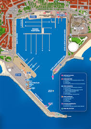 Cannes Map by Port Services Location