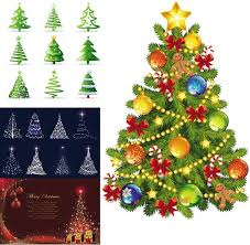 christmas tree vector free vector download 9 838 free vector for