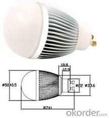 buy led bulb light incandescent replacement ul 5000 lumen price