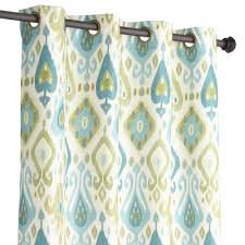 Blue Ikat Curtain Panels Blue Green Ikat Curtain Everything Turquoise