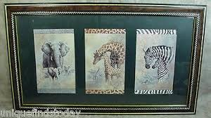 retired home interior pictures home interior retired safari elephant giraffe zebra