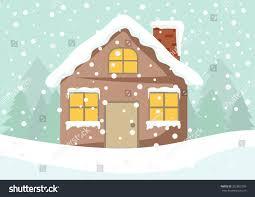cartoon clip art cute cottage house stock vector 352892780