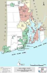 Rhode Island On Map Water Suppliers Ri Water Resources Board