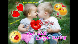 cute baby couple kissing how romantic youtube