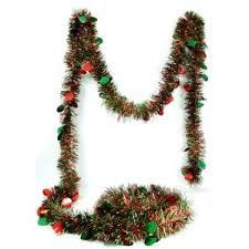 tinsel garland wayfair