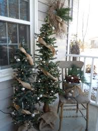 diy christmas outdoor decorations make yard vintage chic how to