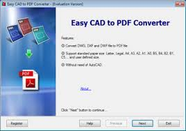 Pdf Converter Easy Cad To Pdf Converter Free And Software Reviews