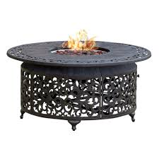 round propane fire pit table paramount fp 251 round outdoor propane fire pit table lowe s canada