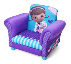 Upholstered Armchairs Uk Disney Doc Mcstuffins Upholstered Chair Purple Amazon Co Uk Baby