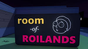room of roilands meet rick morty u0026 pals in this epic justin