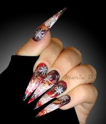 stiletto nails long nails