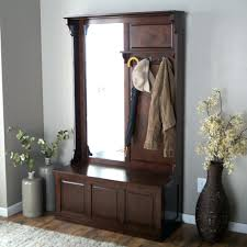 hall tree storage bench woodworking plan small hallway benches