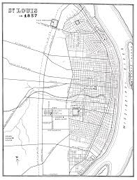 Map Of St Louis Compton Heights History