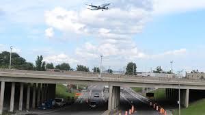 kenworth canada kenworth w900l truck action air canada plane landing youtube