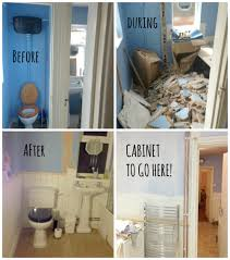 diy before and after bathroom renovation ideas