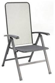 innsbruck steel mesh folding chair black set of 2 contemporary