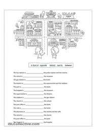 prepositions of place worksheet printable preposition worksheets