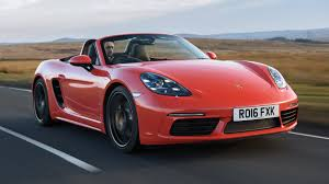 porsche boxster rear porsche 718 boxster s 2016 review by car magazine