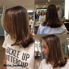 shoulder length hair with layers at bottom 21 cute medium length bob hairstyles shoulder length haircut