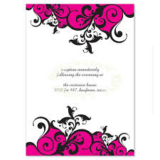 blank wedding invitation kits black pink wedding invitation kit saffron diy printable