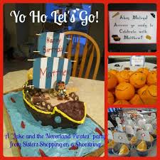 jake neverland pirates birthday party ideas u2013 sisters