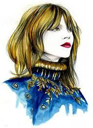 50 beautiful fashion illustrations art and design
