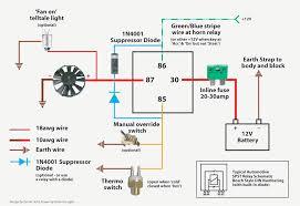 unique relay wiring diagram fan electric fan relay wiring diagram